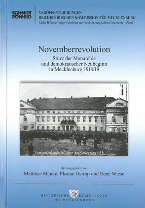 Novemberrevolution von Manke,  Matthias, Ostrop,  Florian, Wiese,  Renè