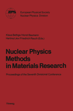 Nuclear Physics Methods in Materials Research von Bethge,  Klaus