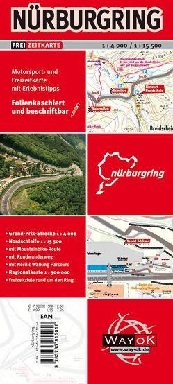 Nürburgring Freizeitkarte