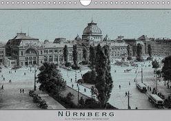 Nürnberg, alte Postkarten neu interpretiert (Wandkalender 2019 DIN A4 quer) von Renken,  Erwin