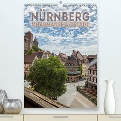 NÜRNBERG Charmante Altstadt (Premium, hochwertiger DIN A2 Wandkalender 2021, Kunstdruck in Hochglanz) von Viola,  Melanie