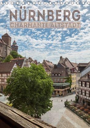 NÜRNBERG Charmante Altstadt (Tischkalender 2018 DIN A5 hoch) von Viola,  Melanie