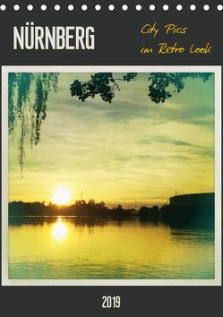 Nürnberg City Pics im Retro Look (Tischkalender 2019 DIN A5 hoch) von Wojciech,  Gaby