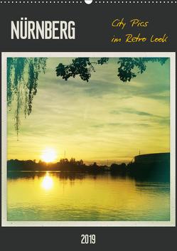 Nürnberg City Pics im Retro Look (Wandkalender 2019 DIN A2 hoch) von Wojciech,  Gaby