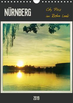 Nürnberg City Pics im Retro Look (Wandkalender 2019 DIN A4 hoch) von Wojciech,  Gaby