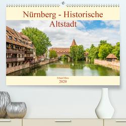 Nürnberg – Historische Altstadt (Premium, hochwertiger DIN A2 Wandkalender 2020, Kunstdruck in Hochglanz) von Hess,  Erhard, www.ehess.de