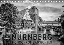 NÜRNBERG Monochrome Ansichten (Tischkalender 2019 DIN A5 quer) von Viola,  Melanie