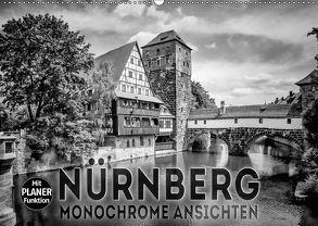 NÜRNBERG Monochrome Ansichten (Wandkalender 2018 DIN A2 quer) von Viola,  Melanie