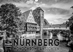 NÜRNBERG Monochrome Ansichten (Wandkalender 2019 DIN A3 quer) von Viola,  Melanie