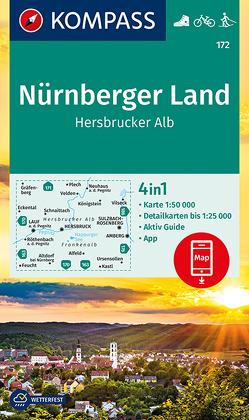 Nürnberger Land, Hersbrucker Alb von KOMPASS-Karten GmbH