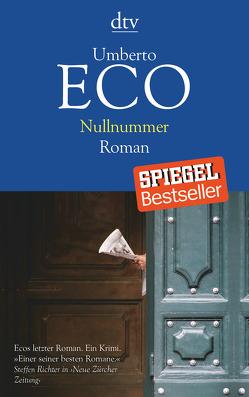 Nullnummer von Eco,  Umberto, Kroeber,  Burkhart