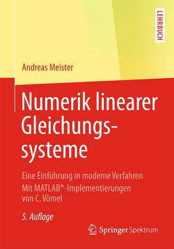 Numerik linearer Gleichungssysteme von Meister,  Andreas