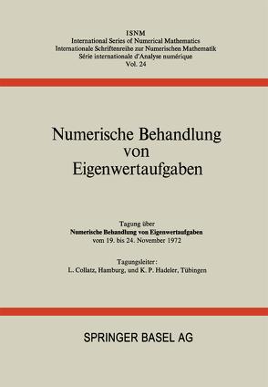 Numerische Behandlung von Eigenwertaufgaben von Collatz, HADELER