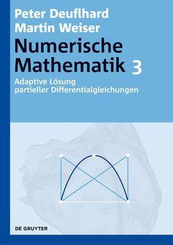 Numerische Mathematik / Adaptive Lösung partieller Differentialgleichungen von Deuflhard,  Peter, Weiser,  Martin