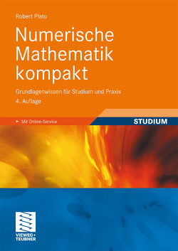 Numerische Mathematik kompakt von Plato,  Robert