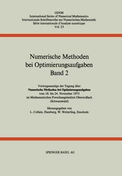 Numerische Methoden bei Optimierungsaufgaben von Collatz, WETTERLING