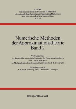 Numerische Methoden der Approximationstheorie von Collatz, MEINARDUS