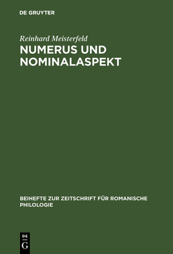 Numerus und Nominalaspekt von Meisterfeld,  Reinhard