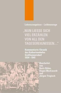 """""""Nun ließe sich viel erzählen von all den Tagesereignissen…"""" von Böhm,  Boris, Markwardt,  Hagen, Trogisch,  Jürgen"""