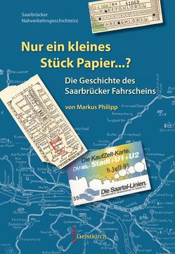 Nur ein kleines Stück Papier…? von Philipp,  Markus