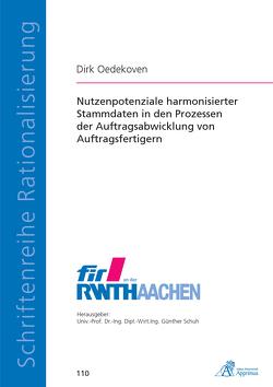 Nutzenpotenziale harmonisierter Stammdaten in den Prozessen der Auftragsabwicklung von Auftragsfertigern von Oedekoven,  Dirk