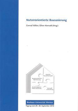 Nutzerorientierte Bausanierung von Kornadt,  Oliver, Völker,  Conrad