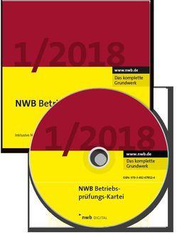 NWB Betriebsprüfungs-Kartei DVD von Boochs,  Wolfgang, Buse,  Johannes W., Duda,  Bernadette, Klimmek,  Peter, Oberfinanzdirektion Düsseldorf, Olles,  Uwe