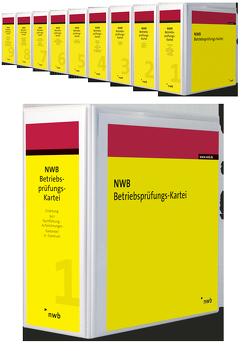 NWB Betriebsprüfungs-Kartei mit 12 Monaten Mindestbezug von Boochs,  Wolfgang, Buse,  Johannes W., Duda,  Bernadette, Klimmek,  Peter, Nüdling,  Lars, Oberfinanzdirektion Düsseldorf, Olles,  Uwe