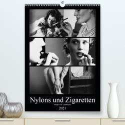 Nylons und Zigaretten (Premium, hochwertiger DIN A2 Wandkalender 2021, Kunstdruck in Hochglanz) von W. Lambrecht,  Markus