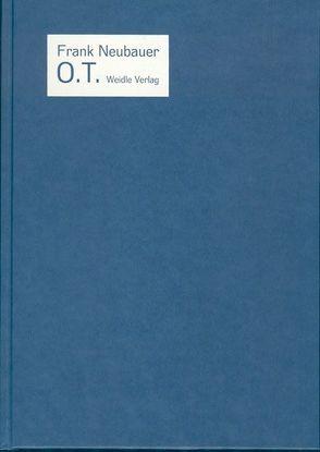 o.T. von Blume,  Eugen, Gaßner Hubertus, Neubauer,  Frank, Weidle,  Barbara
