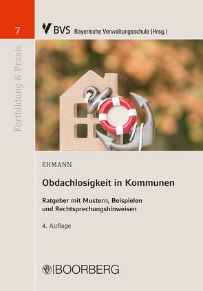 Obdachlosigkeit in Kommunen von Ehmann,  Eugen