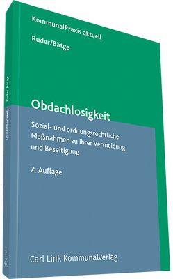Obdachlosigkeit von Bätge,  Frank, Ruder,  Karl-Heinz