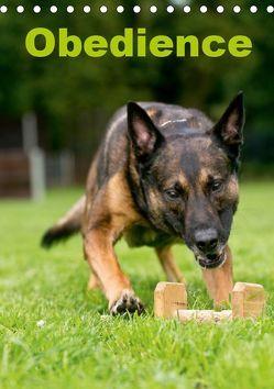 Obedience (Tischkalender 2019 DIN A5 hoch) von Spona / HSV Crazy-Dogs Niederrhein e.V.,  Helma