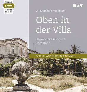 Oben in der Villa von Franck,  William G., Korte,  Hans, Maugham,  W. Somerset, Mottier,  Ann