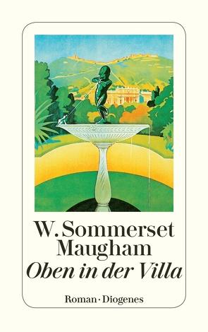 Oben in der Villa von Frank,  William G., Maugham,  W. Somerset, Mottier,  Ann