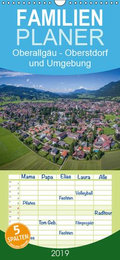 Oberallgäu – Oberstdorf und Umgebung – Familienplaner hoch (Wandkalender 2019 , 21 cm x 45 cm, hoch) von Mosert,  Stefan