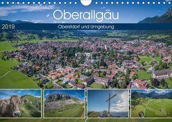Oberallgäu – Oberstdorf und Umgebung (Wandkalender 2019 DIN A4 quer) von Mosert,  Stefan
