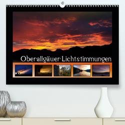 Oberallgäuer Lichtstimmungen (Premium, hochwertiger DIN A2 Wandkalender 2020, Kunstdruck in Hochglanz) von Haberstock,  Matthias