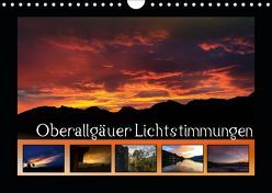 Oberallgäuer Lichtstimmungen (Wandkalender 2019 DIN A4 quer) von Haberstock,  Matthias