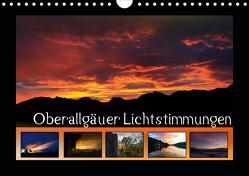 Oberallgäuer Lichtstimmungen (Wandkalender 2021 DIN A4 quer) von Haberstock,  Matthias