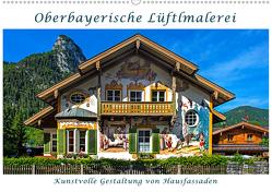 Oberbayerische Lüftlmalerei (Wandkalender 2020 DIN A2 quer) von Zillich,  Bernd