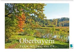 Oberbayern – Seen, Moore, Täler (Wandkalender 2021 DIN A2 quer) von CALVENDO