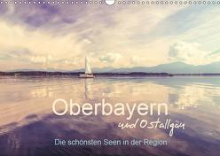Oberbayern und Ostallgäu – Die schönsten Seen in der Region (Wandkalender 2019 DIN A3 quer) von PK-Fotografie