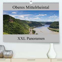 Oberes Mittelrheintal – XXL Panoramen (Premium, hochwertiger DIN A2 Wandkalender 2021, Kunstdruck in Hochglanz) von Schonnop,  Juergen