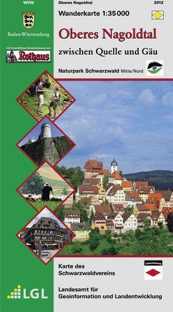 Oberes Nagoldtal von Landesamt für Geoinformation und Landentwicklung Baden-Württemberg (LGL)