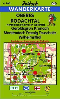 Oberes Rodachtal von Fritsch Landkartenverlag