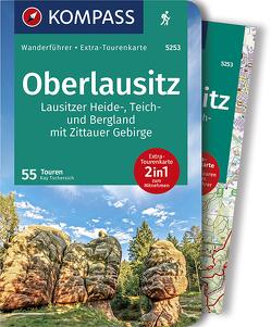 Oberlausitz, Lausitzer Heide-, Teich- und Bergland, mit Zittauer Gebirge von Tschersich,  Kay