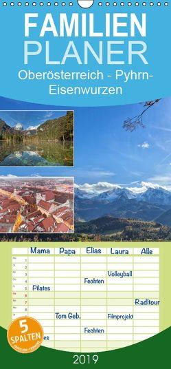 Oberösterreich Urlaubsregion Pyhrn-Eisenwurzen – Familienplaner hoch (Wandkalender 2019 <strong>21 cm x 45 cm</strong> hoch) von Johann,  Schörkhuber