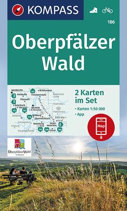 Oberpfälzer Wald von KOMPASS-Karten GmbH