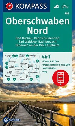 Oberschwaben Nord von KOMPASS-Karten GmbH